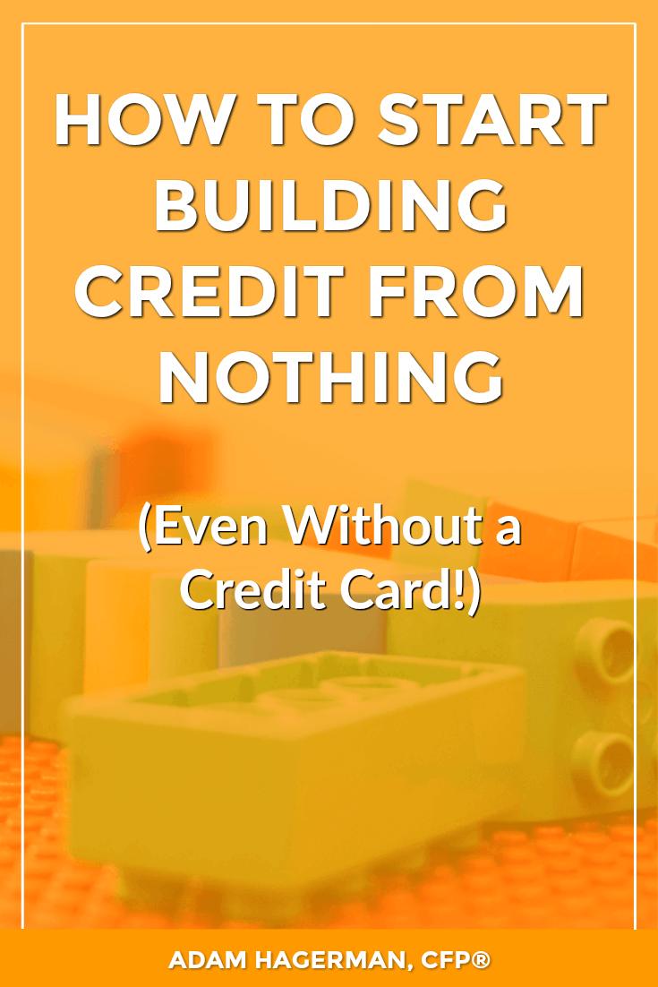 Credit | Build Credit | No Credit | Personal Finance | Debt | Credit Cards | Budgeting | Money | Saving Money